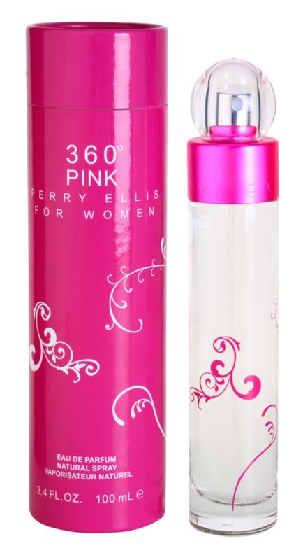 Perry Ellis 360° Pink Eau de Parfum für Damen 100 ml