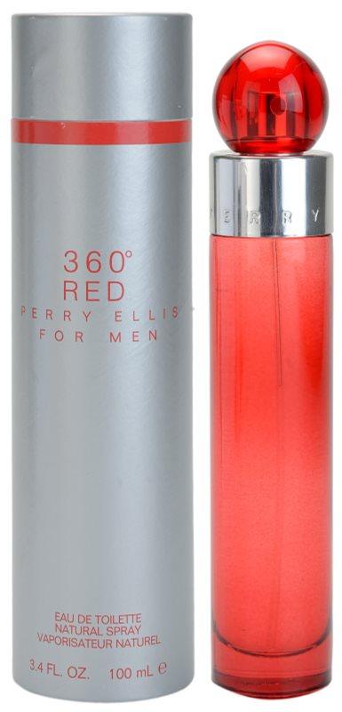Perry Ellis 360° Red eau de toilette para hombre 100 ml