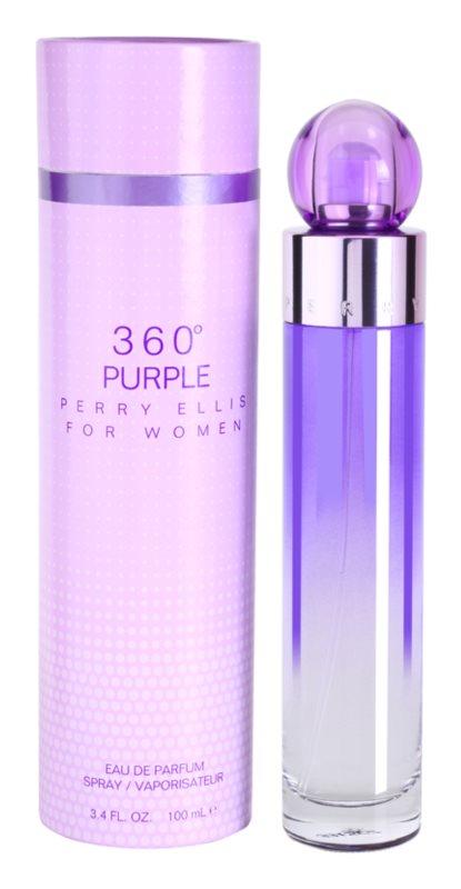 Perry Ellis 360° Purple eau de parfum pour femme 100 ml