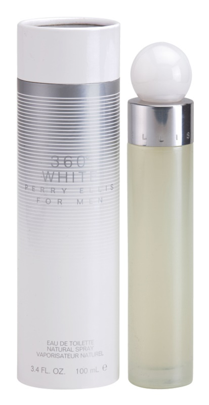 Perry Ellis 360° White Eau de Toilette voor Mannen 100 ml