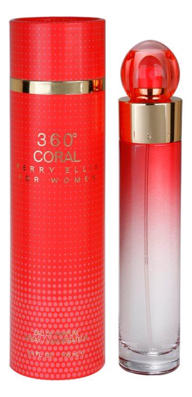 Perry Ellis 360° Coral eau de parfum pentru femei 100 ml