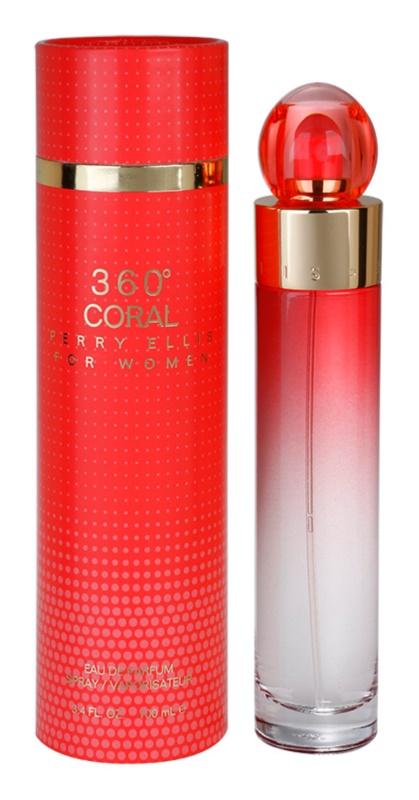 Perry Ellis 360° Coral parfémovaná voda pro ženy 100 ml