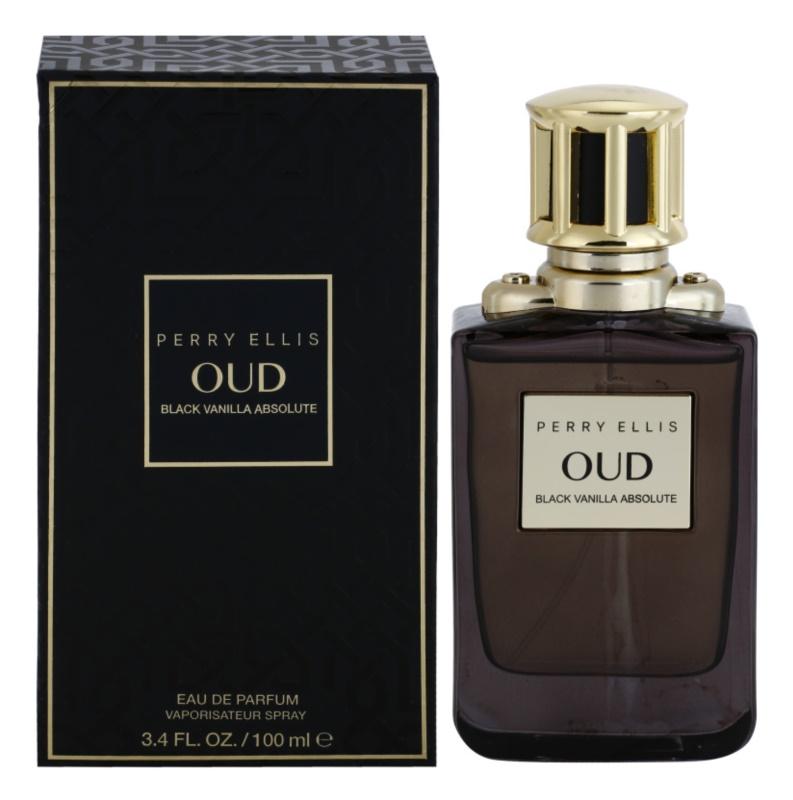Perry Ellis Oud Black Vanilla Absolute eau de parfum mixte 100 ml