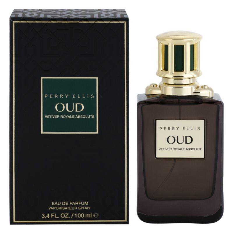 Perry Ellis Oud Vetiver Royale Absolute Eau de Parfum Unisex 100 ml
