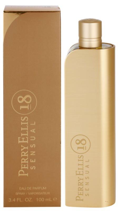 Perry Ellis 18 Sensual Eau de Parfum for Women 100 ml