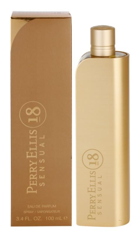 Perry Ellis 18 Sensual Eau de Parfum voor Vrouwen  100 ml