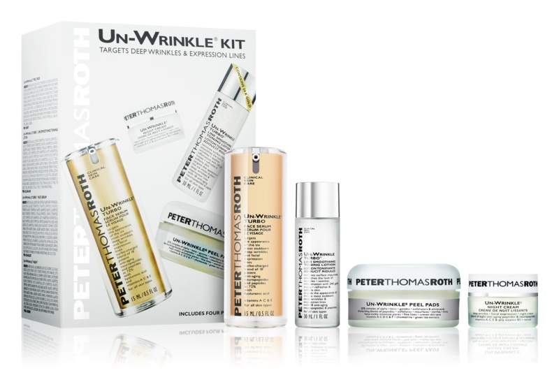 Peter Thomas Roth Un-Wrinkle Cosmetic Set I.