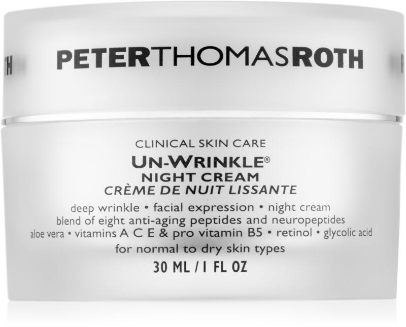 Peter Thomas Roth Un-Wrinkle nočna krema proti gubam