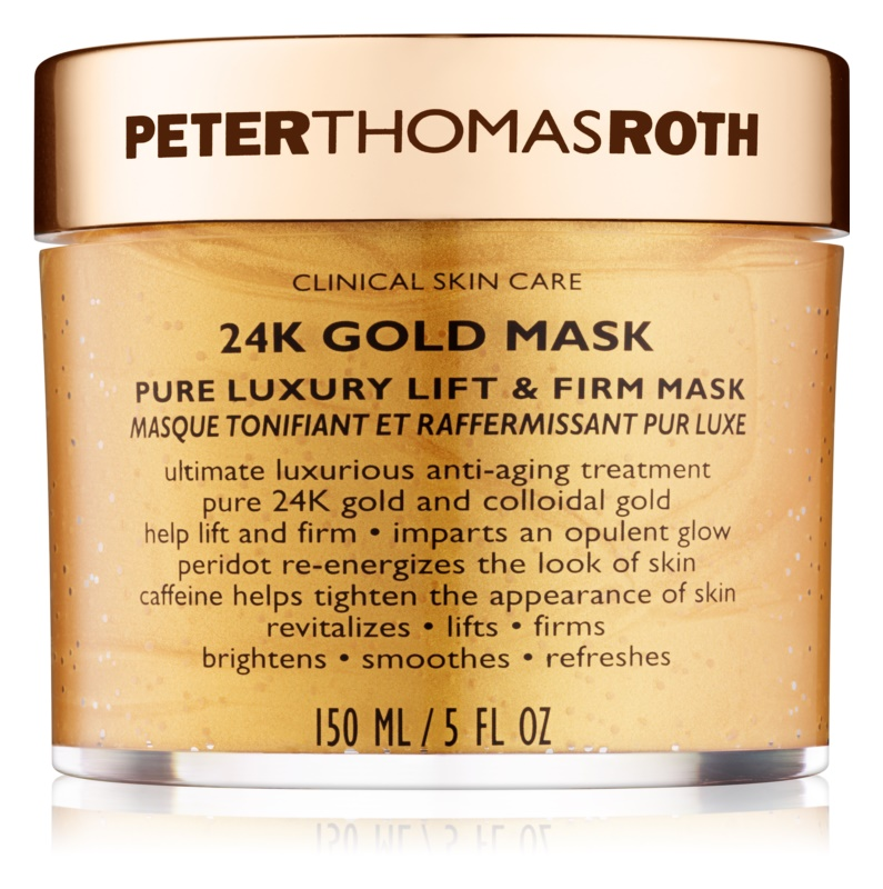 Peter Thomas Roth 24K Gold Luxuriöse straffende Gesichtsmaske mit Lifting-Effekt