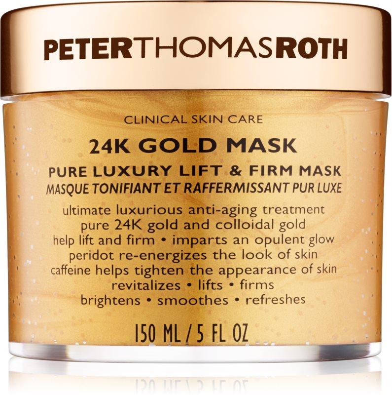 Peter Thomas Roth 24K Gold mascarilla facial reafirmante de lujo con efecto lifting