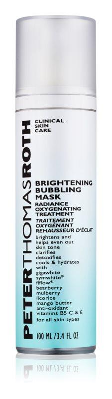 Peter Thomas Roth Bubbling Mask rozjasňující pleťová maska