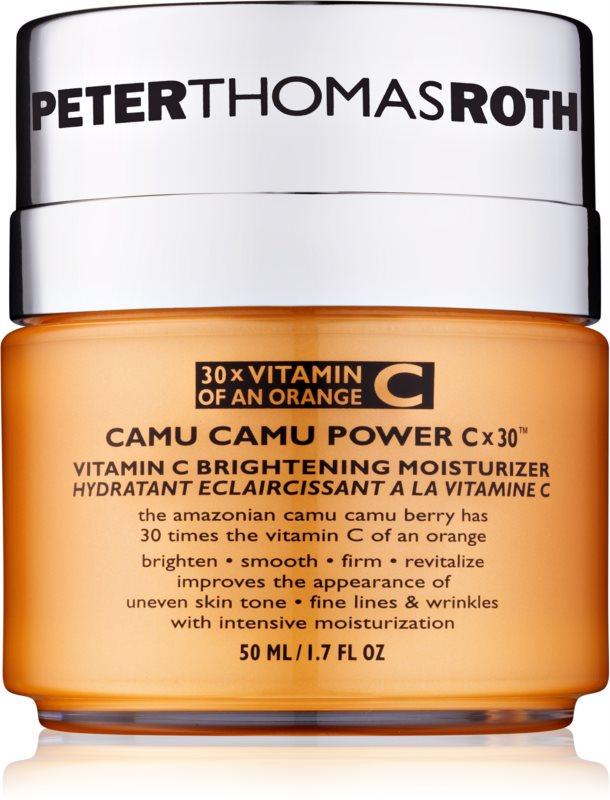 Peter Thomas Roth Camu Camu Power C x 30™ rozjasňujúci hydratačný krém s vitamínom C