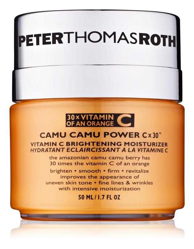 Peter Thomas Roth Camu Camu Power C x 30™ rozświetlający krem nawilżający z witaminą C