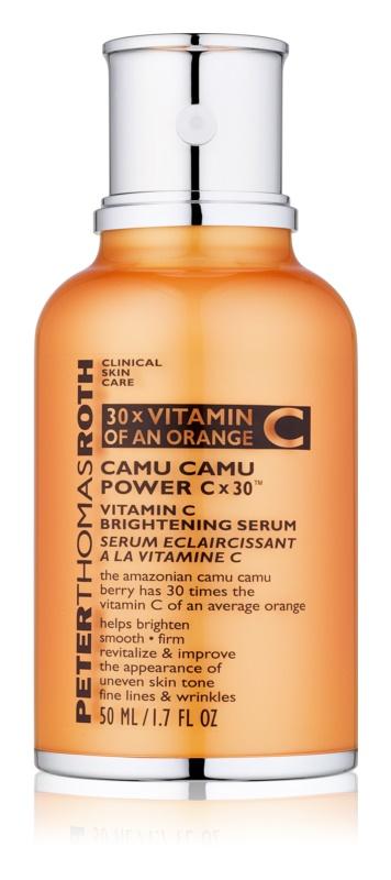Peter Thomas Roth Camu Camu Power C x 30™ serúm de pele iluminador com vitamina C