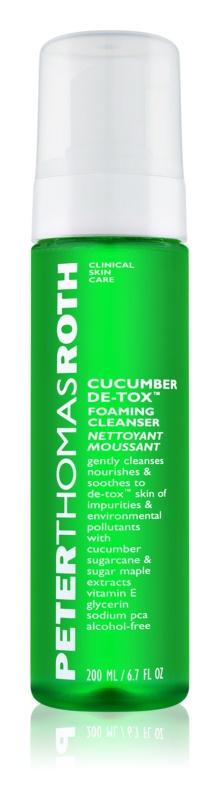 Peter Thomas Roth Cucumber De-Tox čisticí pěna na obličej
