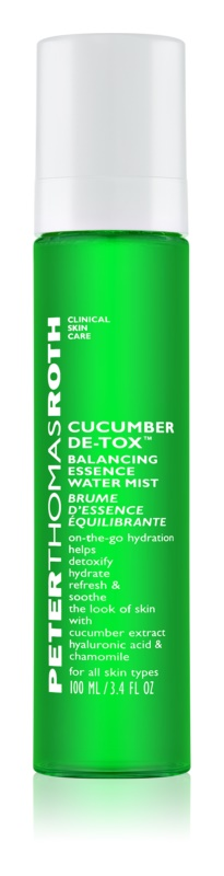Peter Thomas Roth Cucumber De-Tox pleťová mlha s hydratačním účinkem
