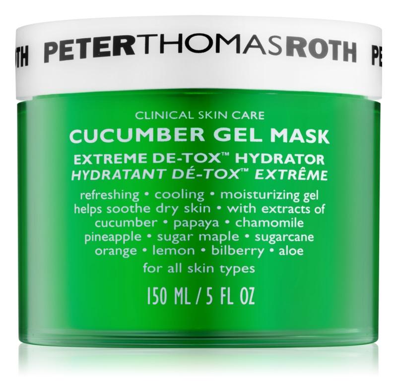 Peter Thomas Roth Cucumber De-Tox mascarilla gel hidratante para rostro y contorno de ojos