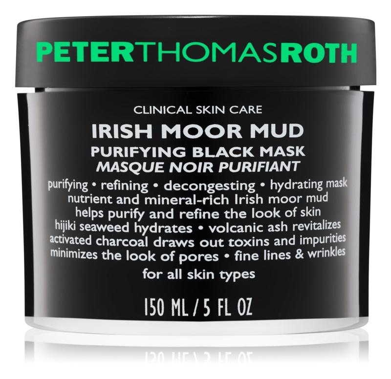 Peter Thomas Roth Irish Moor Mud mascarilla negra limpiadora
