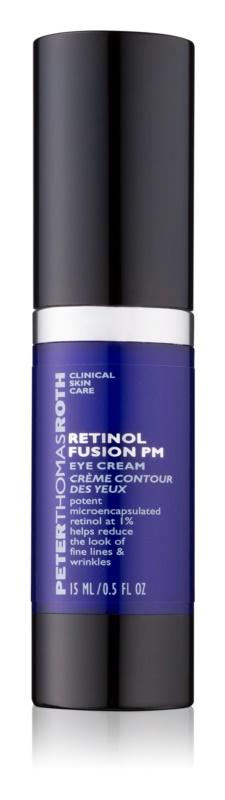 Peter Thomas Roth Retinol Fusion PM noční vyhlazující krém proti vráskám na oční okolí