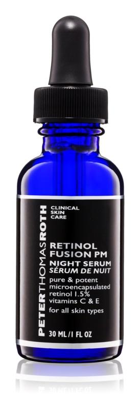 Peter Thomas Roth Retinol Fusion PM noční protivráskové sérum s retinolem