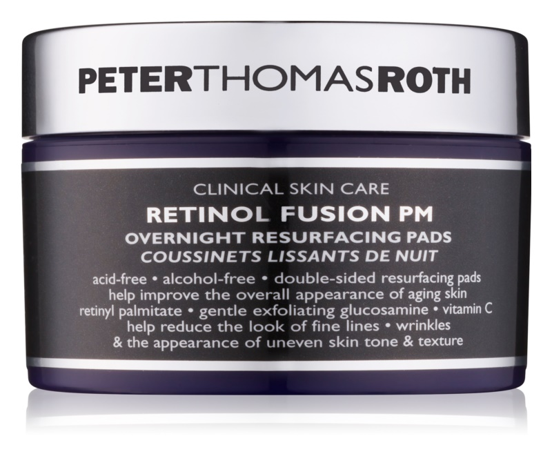 Peter Thomas Roth Retinol Fusion PM noční pleťové tamponky proti vráskám
