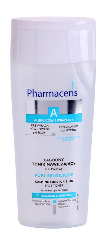 Pharmaceris A-Allergic&Sensitive Puri-Sensilique hydratačné tonikum s kyselinou hyalurónovou