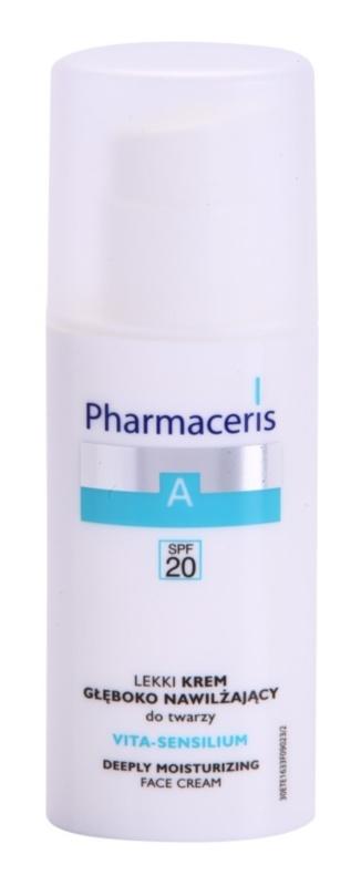 Pharmaceris A-Allergic&Sensitive Vita-Sensilium obnovujúci hydratačný krém pre suchú a citlivú pokožku