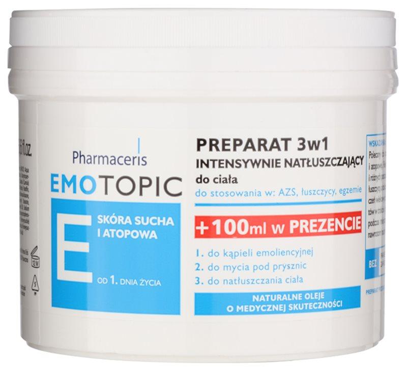 Pharmaceris E-Emotopic інтенсивна олійка для догляду за тілом для дітей та дорослих 3в1