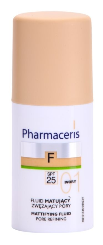 Pharmaceris F-Fluid Foundation матуючий флюїд SPF 25