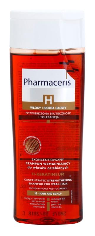 Pharmaceris H-Hair and Scalp H-Keratineum posilňujúci šampón pre oslabené vlasy