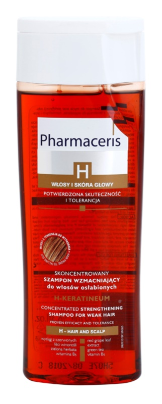Pharmaceris H-Hair and Scalp H-Keratineum posilující šampon pro oslabené vlasy