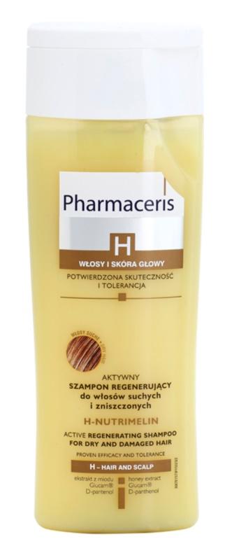 Pharmaceris H-Hair and Scalp H-Nutrimelin champô regenerador para cabelo seco a danificado