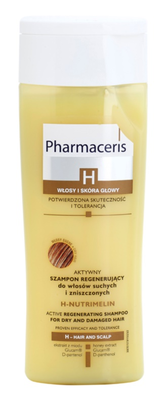 Pharmaceris H-Hair and Scalp H-Nutrimelin champú regenerador para cabello seco y dañado
