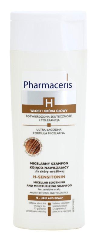 Pharmaceris H-Hair and Scalp H-Sensitonin champô apaziguador para couro cabeludo sensíve para cabelo fino