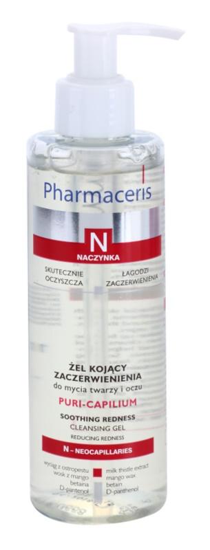 Pharmaceris N-Neocapillaries Puri-Capilium pomirjevalni čistilni gel za občutljivo in pordelo kožo