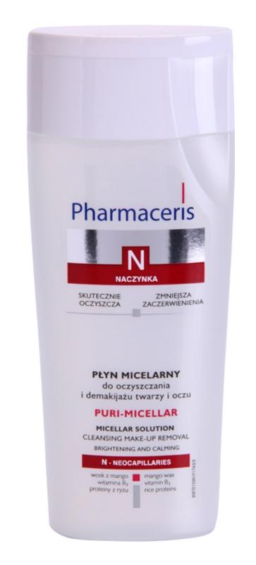 Pharmaceris N-Neocapillaries Puri-Micellar micelární čisticí voda pro citlivou pleť