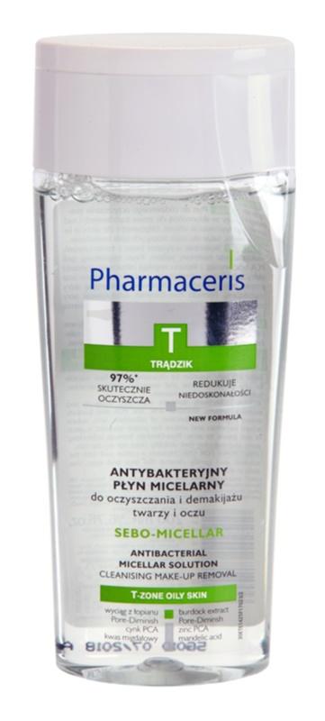 Pharmaceris T-Zone Oily Skin Sebo-Micellar Mizellen-Reinigungswasser für problematische Haut, Akne