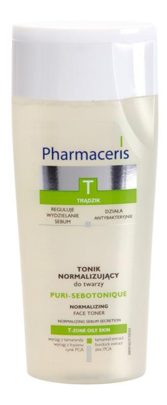 Pharmaceris T-Zone Oily Skin Puri-Sebotique tónico limpiador para pieles problemáticas y con acné