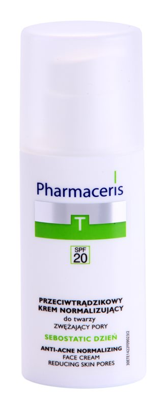 Pharmaceris T-Zone Oily Skin Sebostatic Day Day Astringent Cream For Problematic Skin, Acne