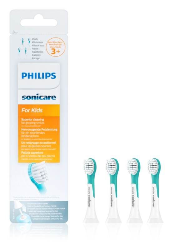 Philips Sonicare For Kids HX6034/33 náhradní hlavice pro zubní kartáček