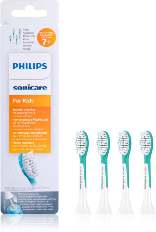 Philips Sonicare For Kids HX6044/33  zamjenske glave za zubnu četkicu 4 kom