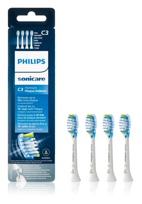Philips Sonicare Premium  HX9042/17 recambio para cepillo de dientes  4 uds