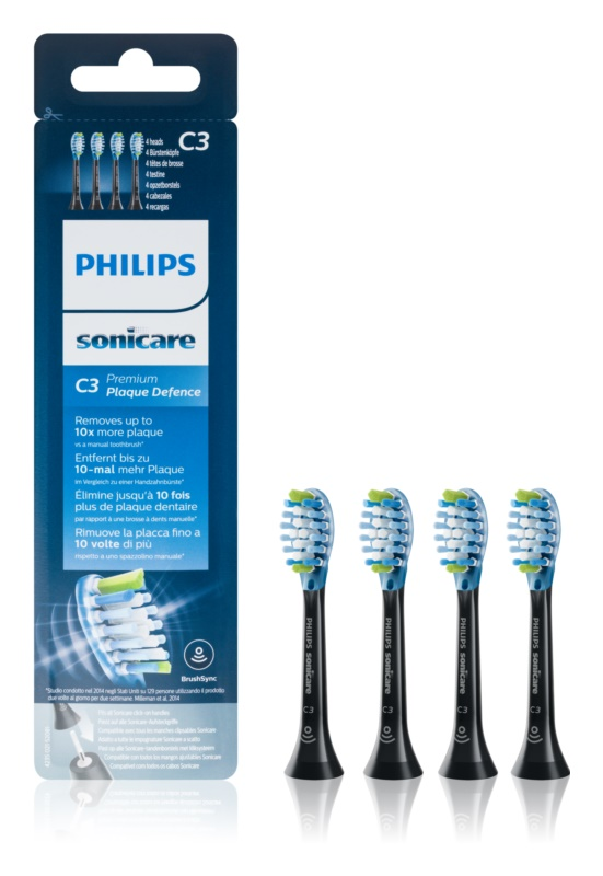 Philips Sonicare Premium  Plaque Defense HX9044/33 końcówki wymienne do szczoteczki do zębów