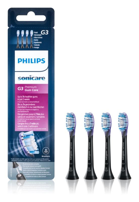 Philips Sonicare Premium  Gum Care HX9054/33 têtes de remplacement pour brosse à dents