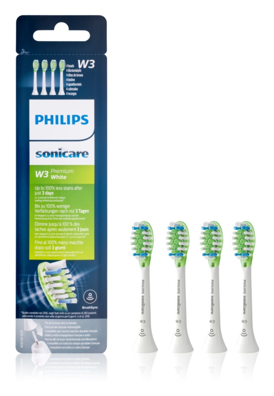 Philips Sonicare Premium  HX9064/17 Replacement Heads For Toothbrush 4 pcs