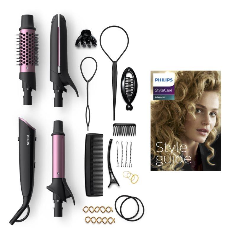 Philips StyleCare Advanced BHH822/00 prostownica i lokówka do włosów 2w1
