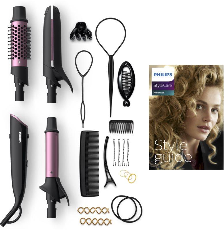 Philips StyleCare Advanced BHH822/00 žehlička a kulma na vlasy 2 v 1