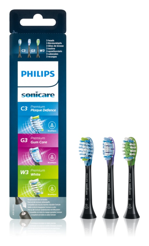 Philips Sonicare Premium  HX9073/33  końcówki wymienne do szczoteczki do zębów