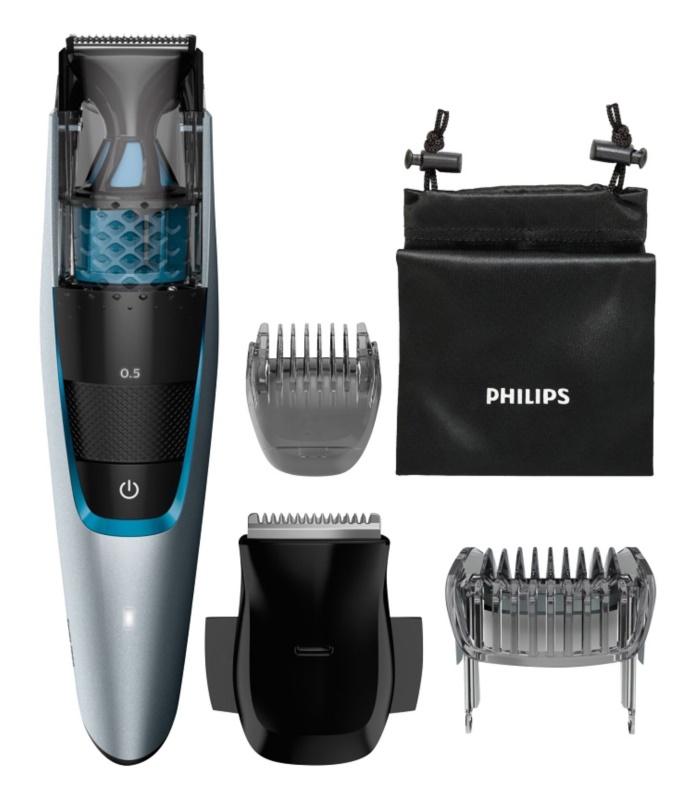 Philips Beardtrimmer Series 7000 BT7210/15 zastrihávač fúzov s vysávaním