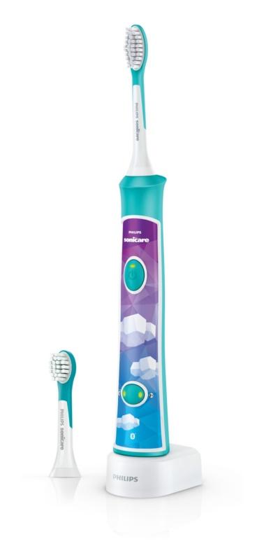 Philips Sonicare For Kids HX6322/04 soniczna szczoteczka elektryczna dla dzieci z połączeniem Bluetooth